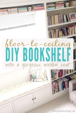 Small Of Floor To Ceiling Bookshelves