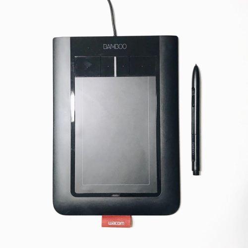 Medium Of Wacom Pen And Touch