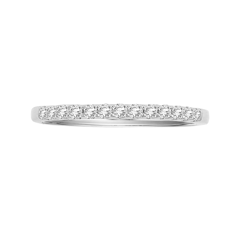 cherish always 14k white gold 14 ct tw certified diamond wedding band kohls wedding bands T W Certified Diamond Wedding Band