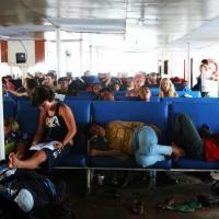Bali to Lombok by Ferry - the Backpacker's Way!