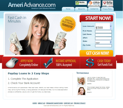 fast cash payday cash advance