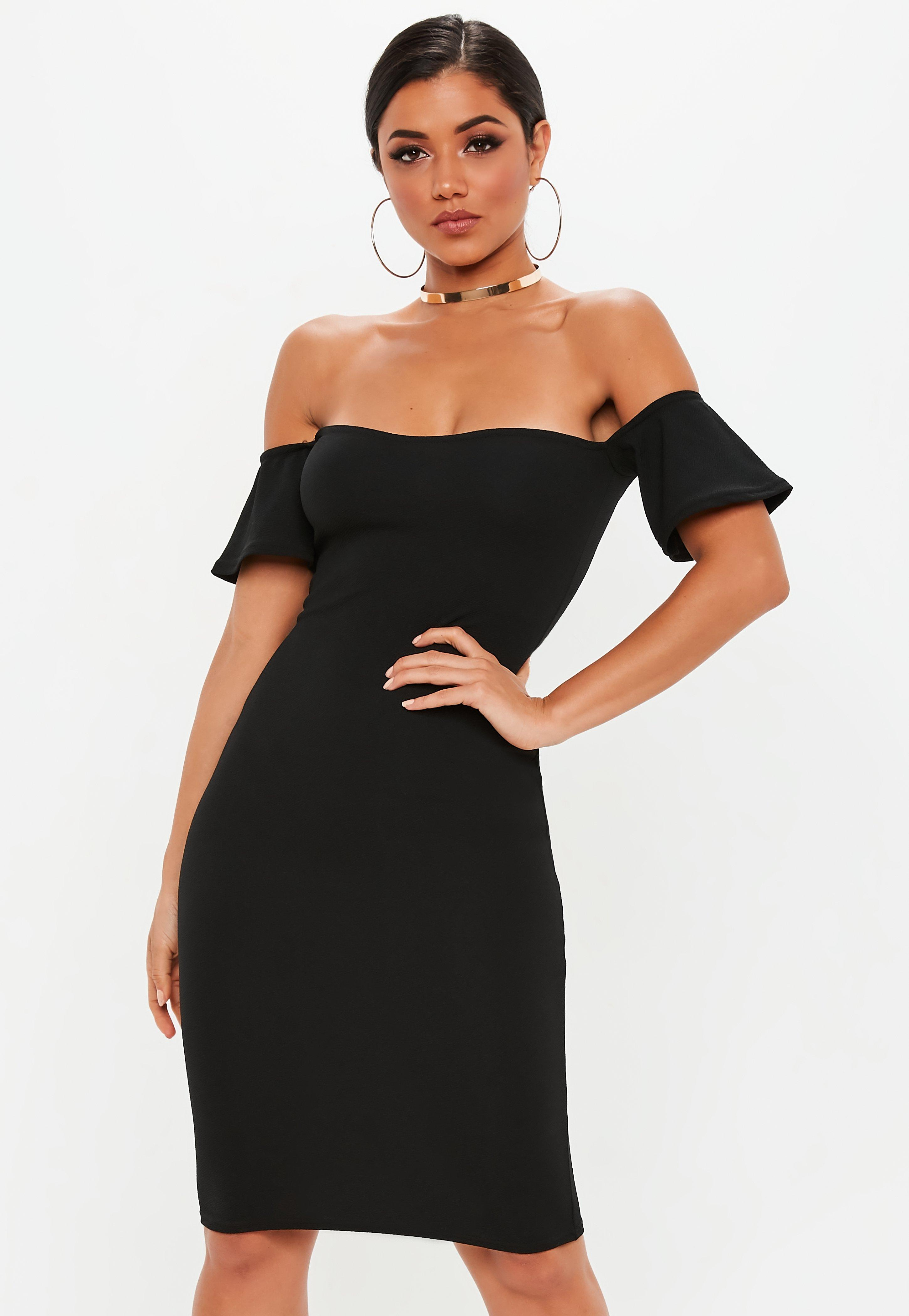 Witching Size College Graduation Dresses Bardot Bodycon Midi Dress Black Bardot Bodycon Midi Dress Black Graduation Dresses Uni Grad Dresses Missguided Ireland Graduation Dresses Mom College wedding dress Graduation Dresses For College