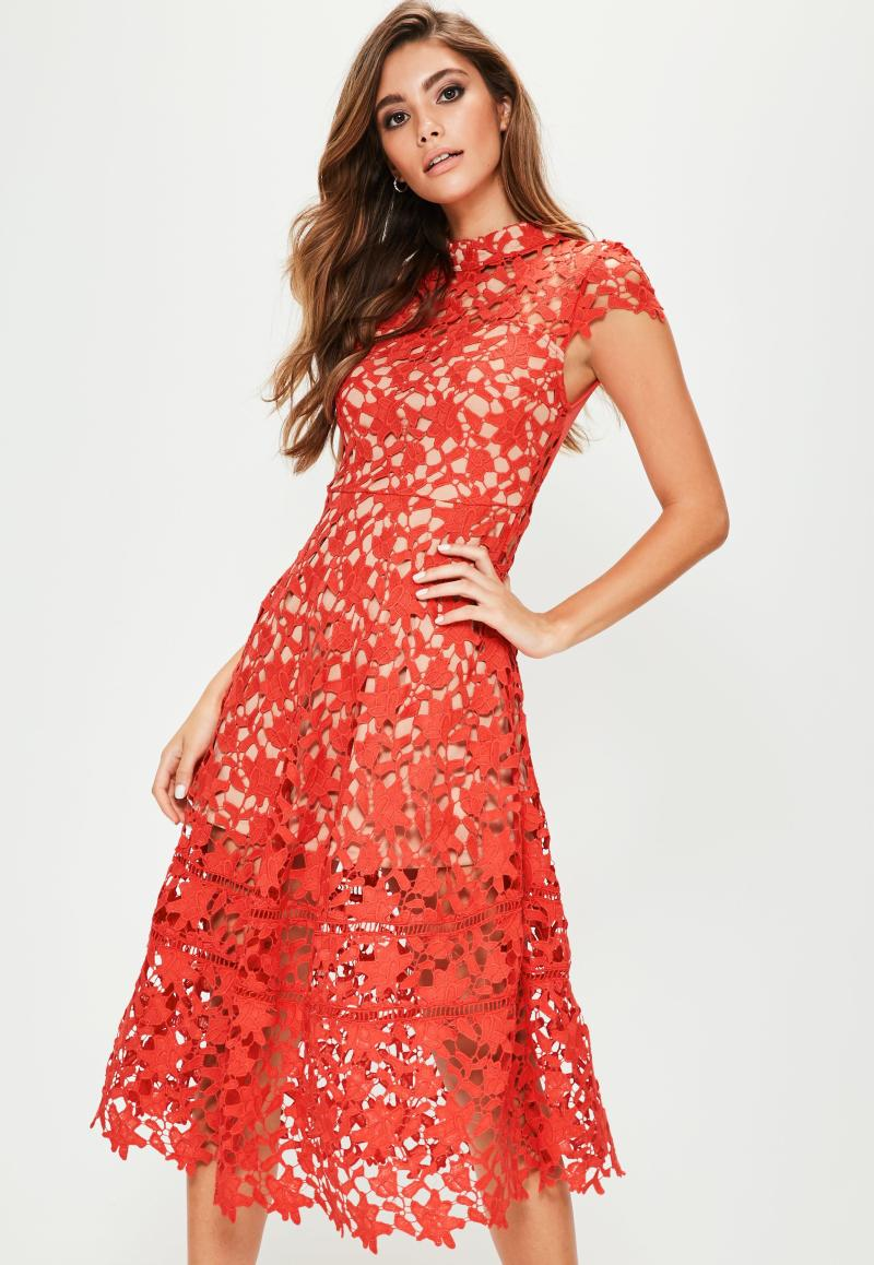 Large Of Red Lace Dress