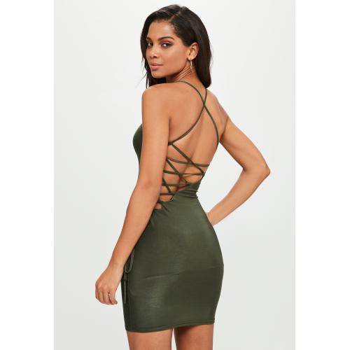 Medium Crop Of Lace Up Dress