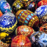Czech Kraslice (and How to Dye Eggs with Onion Skins)