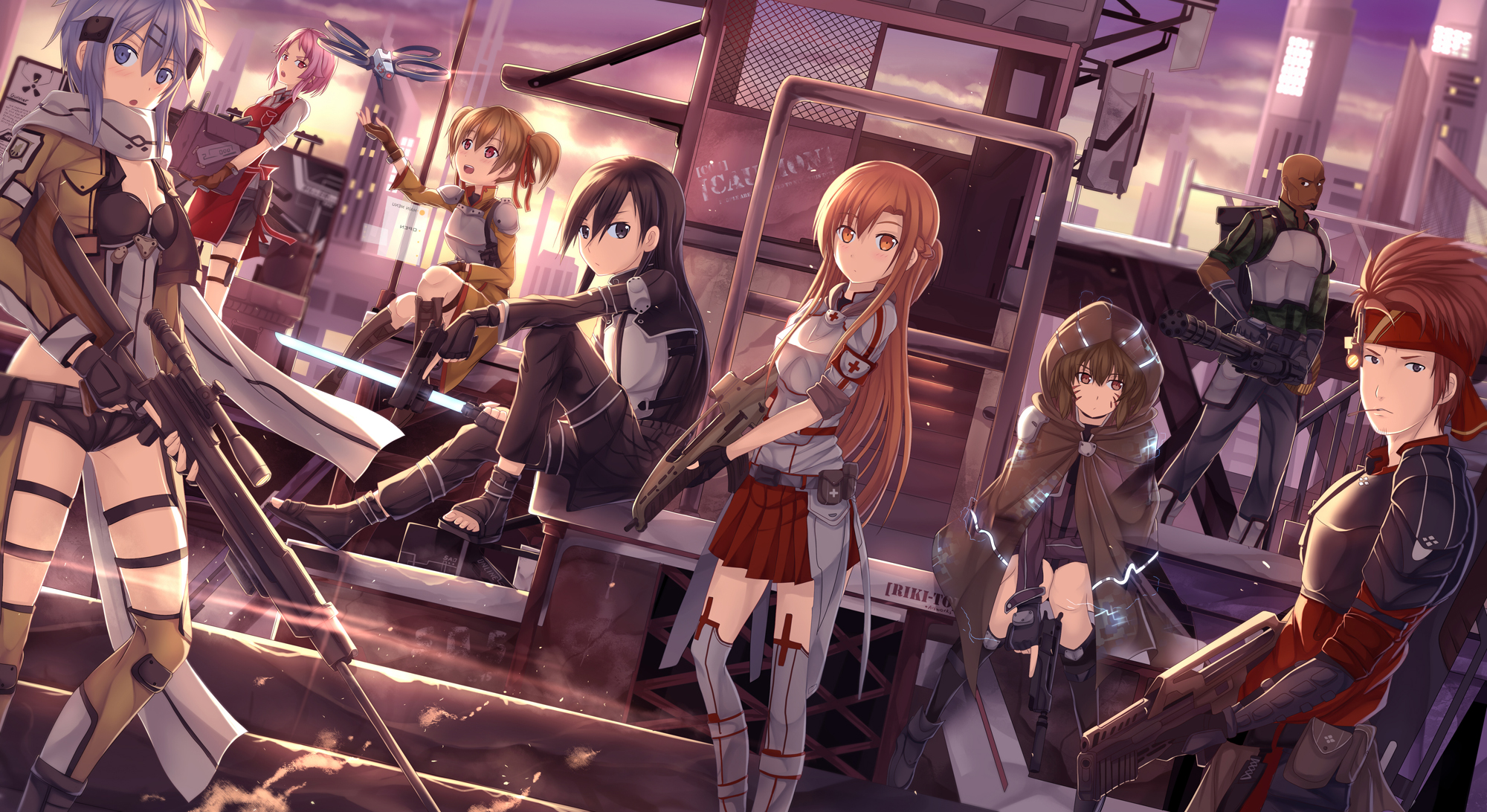 Sword Art Online II   Phantom Bullet image   Anime Fans of modDB     Add media Report RSS Sword Art Online II   Phantom Bullet  view original