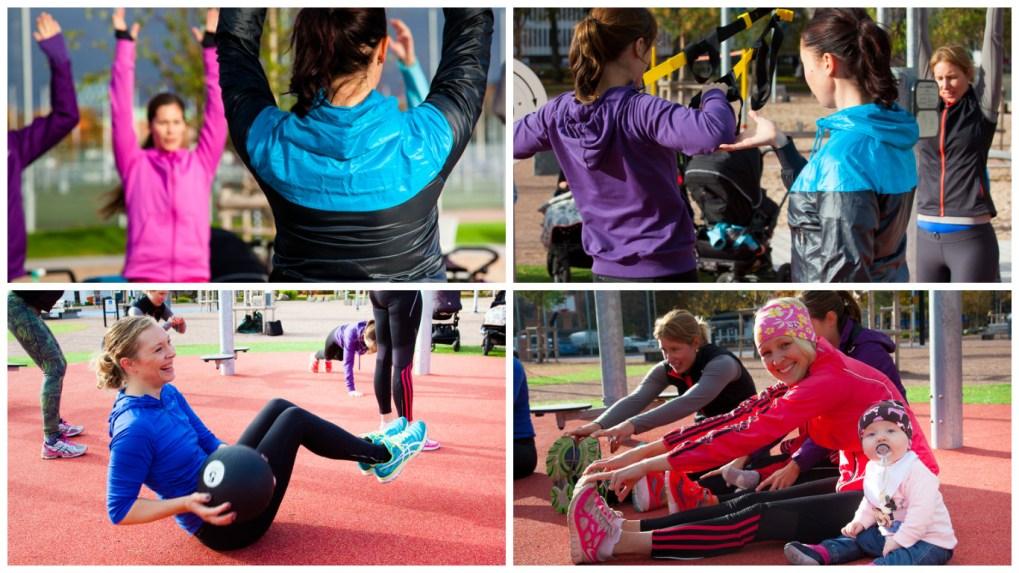 Strong Mum träning i Mölnlycke