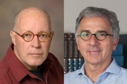 Diptych of portraits of Paul Krieg and Douglas Melton