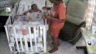 WARNING: DISTURBING VIDEO Jury Sees Video of Mom Smothering Baby