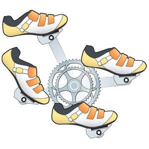 pedaler rundtramp