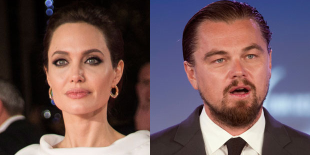 Angelina Jolie and Leonardo DiCaprio were among the targets of Sony executives. Photos / AP