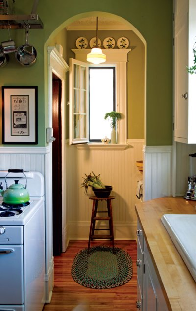 Sunny 1940s-Inspired Kitchen - Old-House Online - Old-House Online