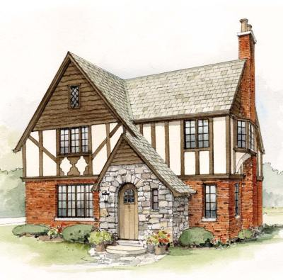 Early 20th-Century Suburban House Styles - Old-House Online - Old-House Online