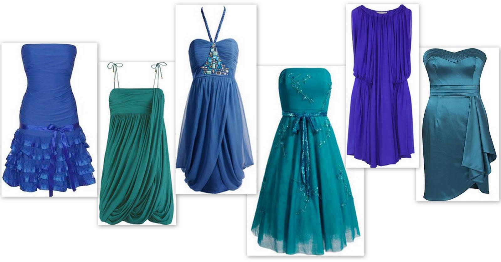 bridesmaid dresses in blue colour wedding dresses with blue Bridesmaid Dresses In Blue Colour 52