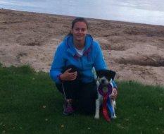 Tranås 2012-09-08Uppflyttade till agilityklass 2Adesso Raven's WingFörare Emma Nicklasson