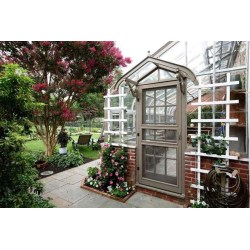 Small Crop Of Greenhouse Attached To House
