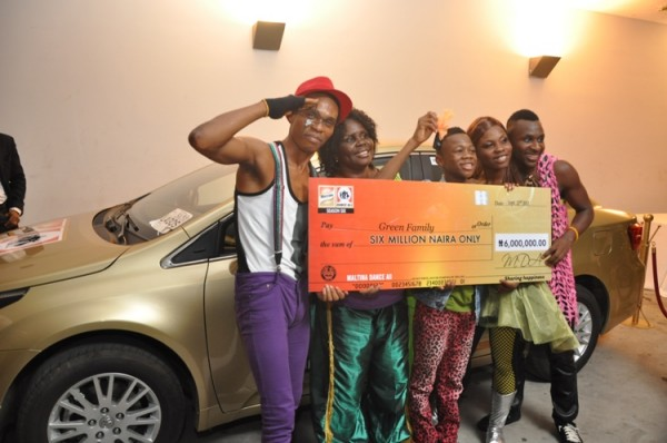 The Maltina Dance All for this year comes to an end with the Green Family triumphing