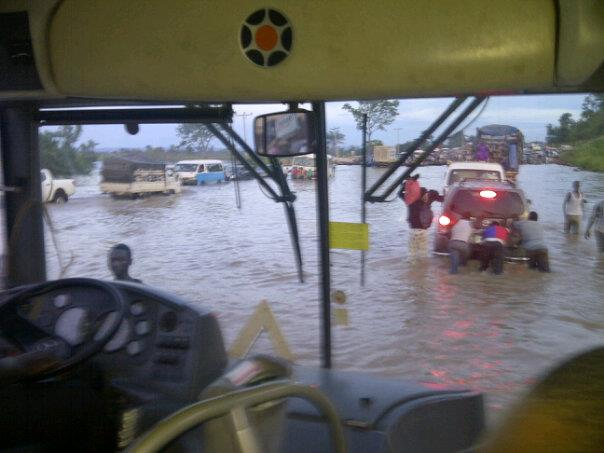 It's been hell for motorists and commuters in Kogi following the flood