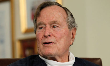 George Bush senior, [Photo: guardian.co.uk]