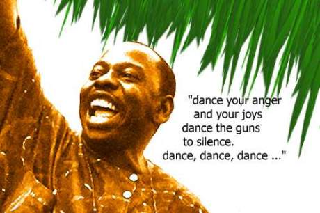 Late Ken Saro-Wiwa.... Abacha and his team murdered him and his colleagues to prove the regime was no coward