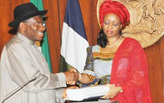 Deziani Alison-Madueke is one of President Jonathan's favourite ministers.