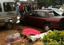Scene of the Kaduna bomb blast