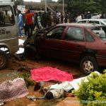 Scene of the kaduna bomb