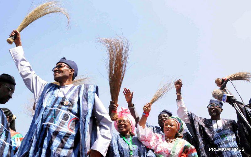APC Presidential Campaign in Jos
