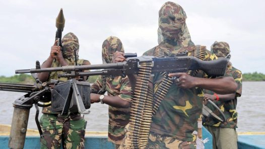 Armed militants Photo: Buzz Nigeria
