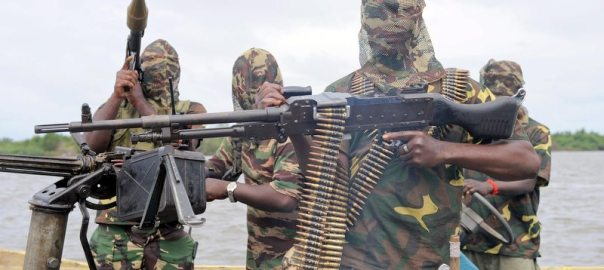 Armed militants  Photo: Buzz Nigeria