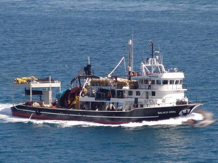 vessel on Nigeria's water