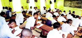 Exam in progress...  Photo Credit: National Mirror