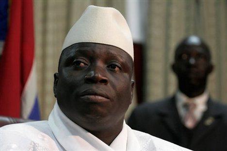 Gambian President, Yahya Jammeh