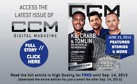 Chris Tomlin, Jason Crabb, KB, Hillsong Untied, CCM Magazine - image