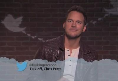 "Lena Dunham, Chris Pratt and more take part in Jimmy Kimmel's latest ""Celebrities Read Mean ..."