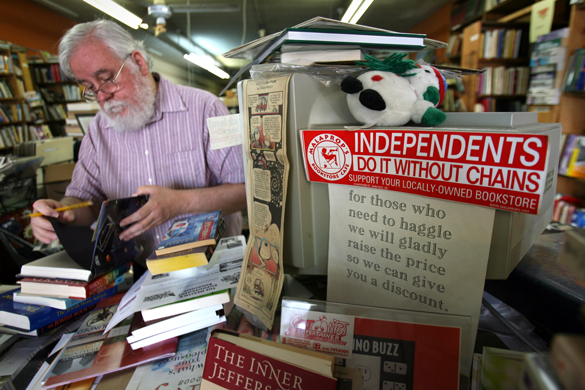 The now closed 25th St. Bookstore in Cleveland | Ohio, USA (photo: Lisa DeJong/The Plain Dealer)
