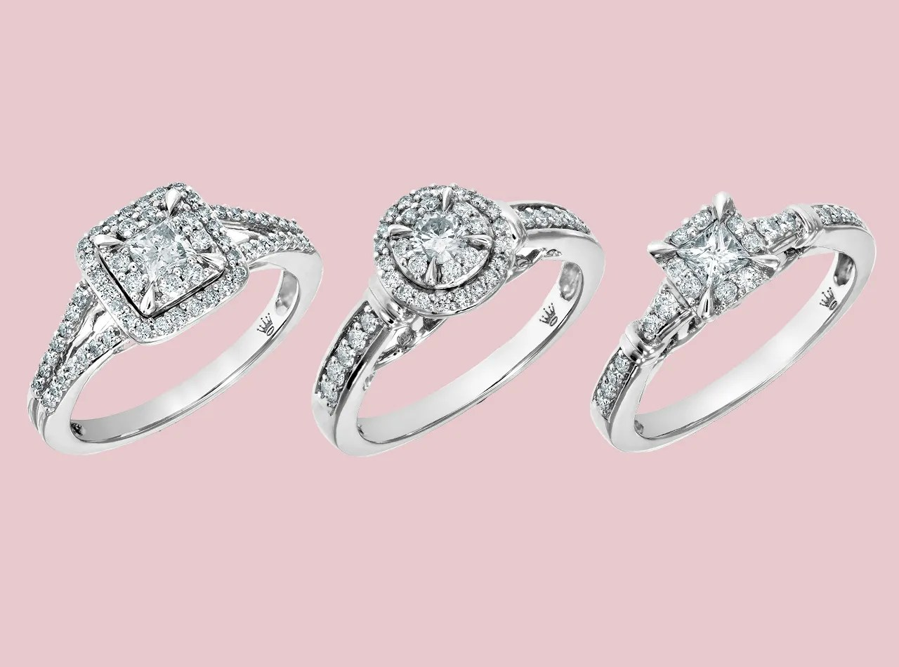 hallmark engagement rings jcpenney jewelry wedding rings