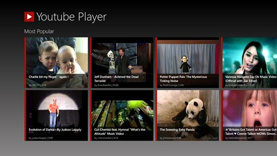 YouTube_Player_Main_Screen