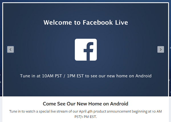 Facebook_Android_Announcement