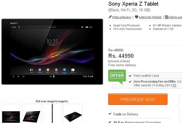 Sony_Xperia_Z_Tablet_Pre-Order