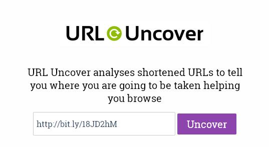 URL Uncover