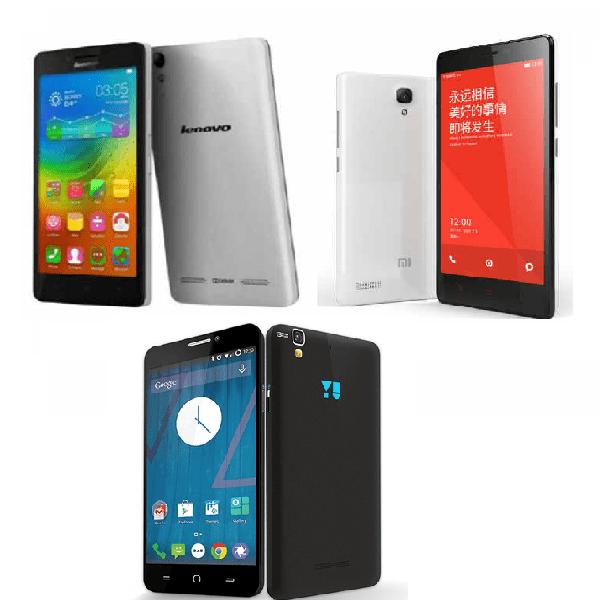 YU Yureka Vs Xiaomi Redmi Note Vs Lenovo A6000