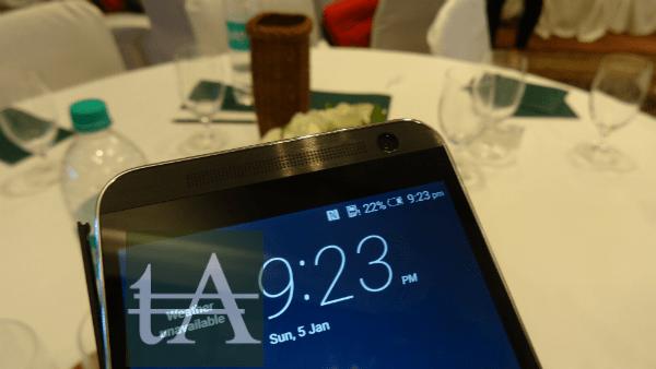 HTC One E9 Plus Front Camera