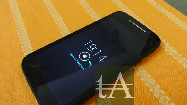 Motorola Moto E 2015 Notifications