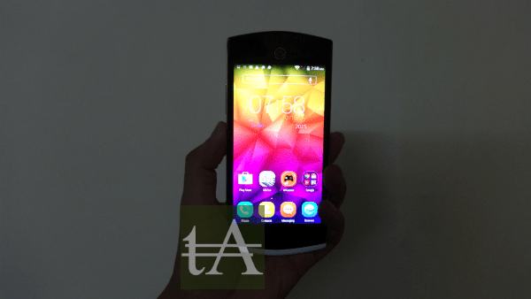 Micromax Canvas Selfie Front
