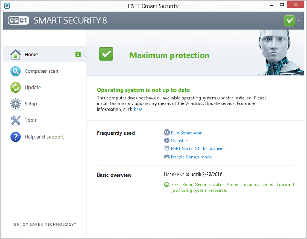 Eset Smart Security 8 Home