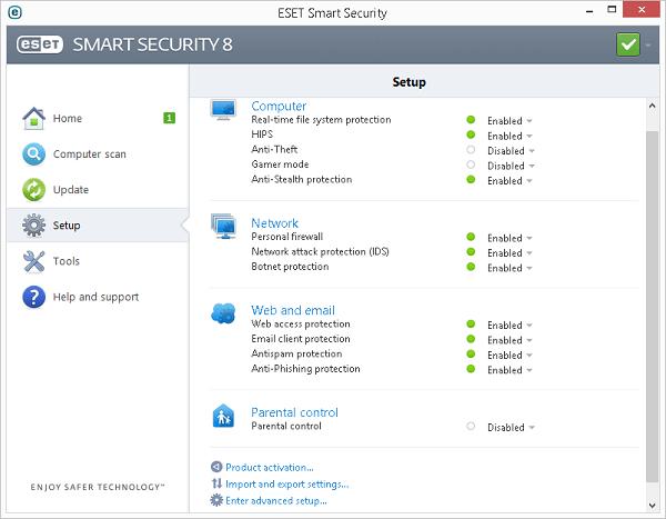 Eset Smart Security 8 Tools