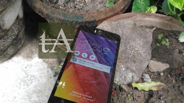Asus ZenFone Selfie Lock Screen