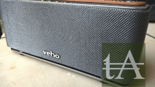 Veho M6 360 Mode Retro Bluetooth Speaker Front
