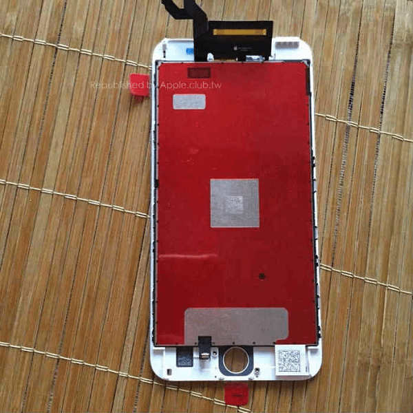 Apple iPhone 6S Plus Leak Front Panel Force Touch